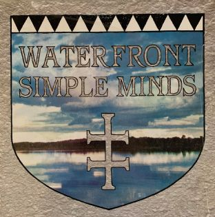 "Simple Minds ‎- Waterfront (12"") (VG/VG-)"